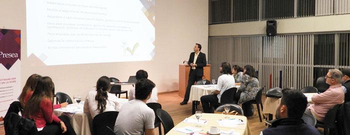 """El pasado jueves 14 de septiembre NeuralSoft brindó a sus clientes una charla sobre """"¿Cómo delegar y asignar roles en tu empresa?"""" de la mano de especialistas en Management y CRM."""
