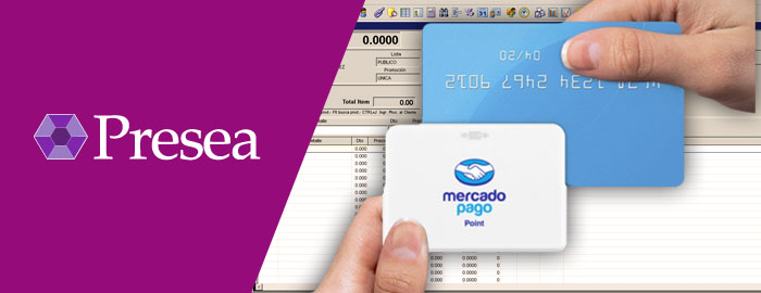 Presea registra automáticamente los cobros realizados a través de Mercado Pago QR, Point Tradicional y Point Bluetooth.